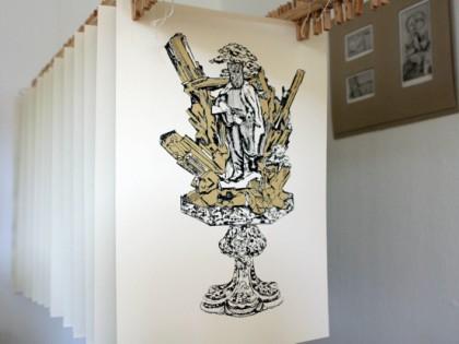 Kúpte si nesmrteľnosť domov – serigrafiu z limitovanej edície Jarmily Mitríkovej a Dávida Demjanoviča