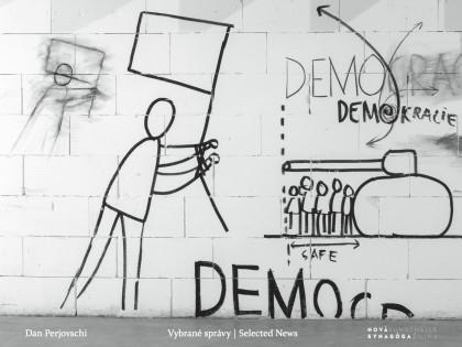 Vybrané kresby Dana Perjovschého ako art book, kalendár či vymaľovánka