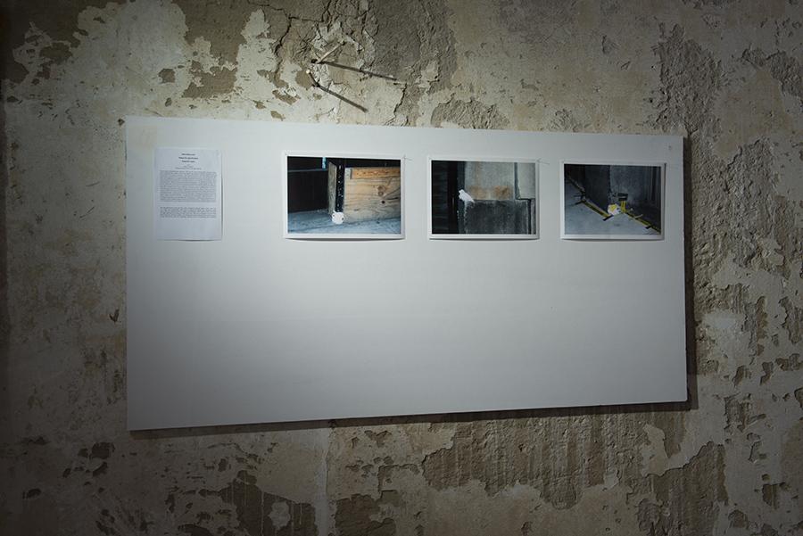 Michal Moravčík: Podozrivá rekonštrukcia / Suspicous repair 2004, Akcia / Action Fashion District NYC, Foto: Igor Eškinja
